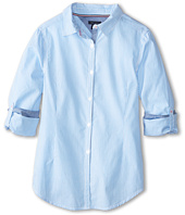 Tommy Hilfiger Kids - Tommy Stripe Shirt (Big Kids)
