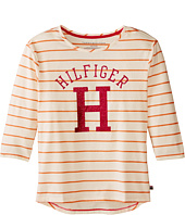 Tommy Hilfiger Kids - Long Sleeve Yarn Dyed Knit Top (Big Kids)