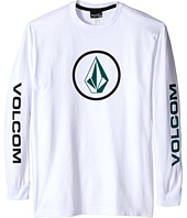 Volcom Kids - Stone Stoke Long Sleeve Tee (Big Kids)