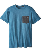 Volcom Kids - Fall Switch Short Sleeve Pocket Tee (Big Kids)