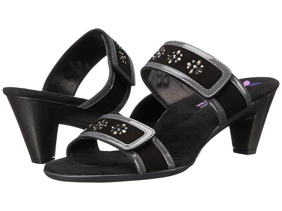 Helle Comfort Edenia Black Combo Womens Sandals