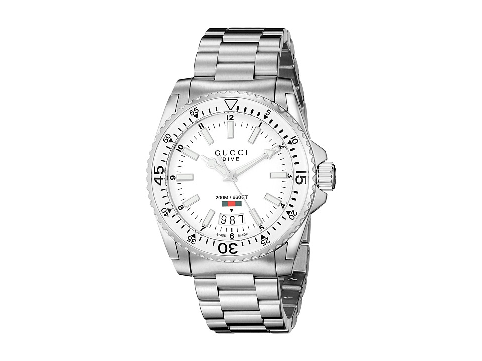 Gucci Dive 40mm Stainless Steel Watches