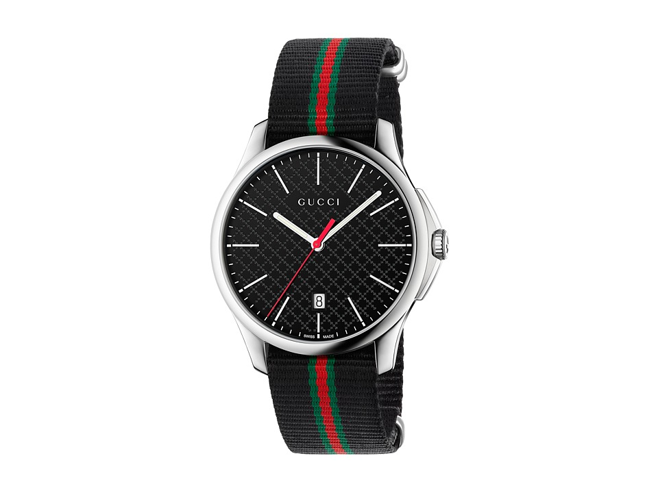 Gucci G Timeless 40mm Stainless Steel/Black Nato Strap Watches