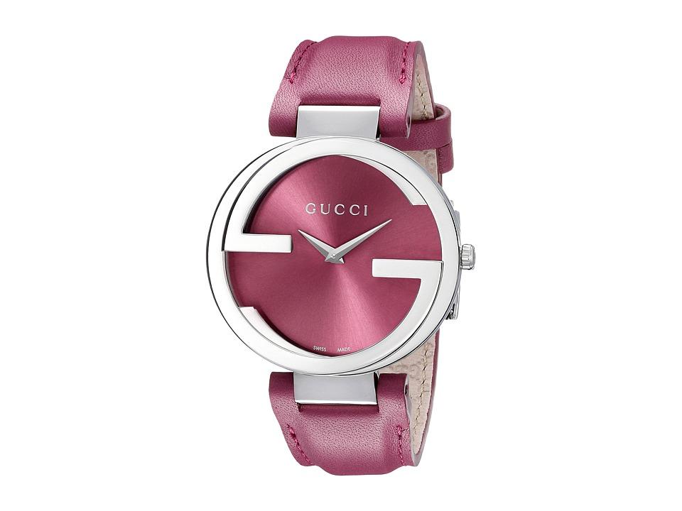 Gucci Interlocking 37mm Stainless Steel Watches
