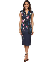 Ted Baker - Antonya Fuchsia Floral Midi Dress