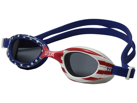 TYR Special Ops 2.0 Femme Polarized USA Goggles - Red/Navy