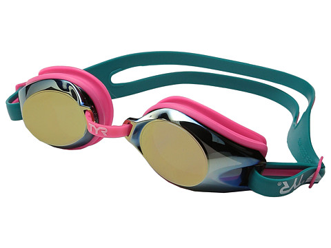 TYR Femme T-72 Petite Mirrored Goggles - Blue/Pink