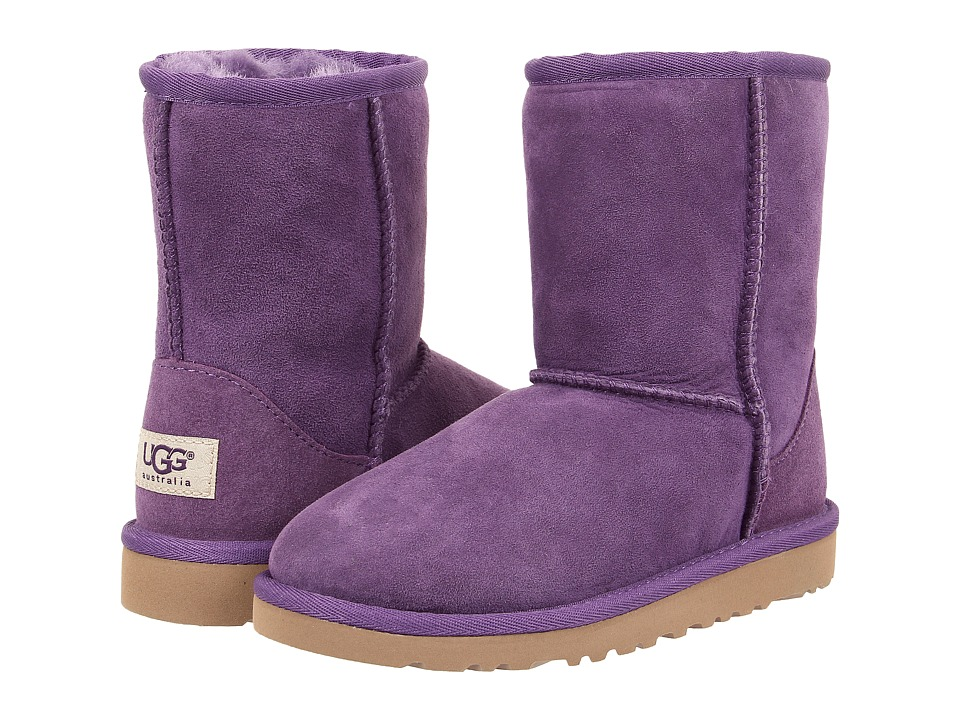 UGG Kids Classic (Little Kid/Big Kid) (Bilberry Twinface) Kids Shoes