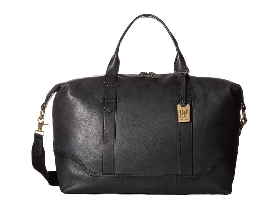 Frye - Campus Overnight (Black) Weekender/Overnight Luggage