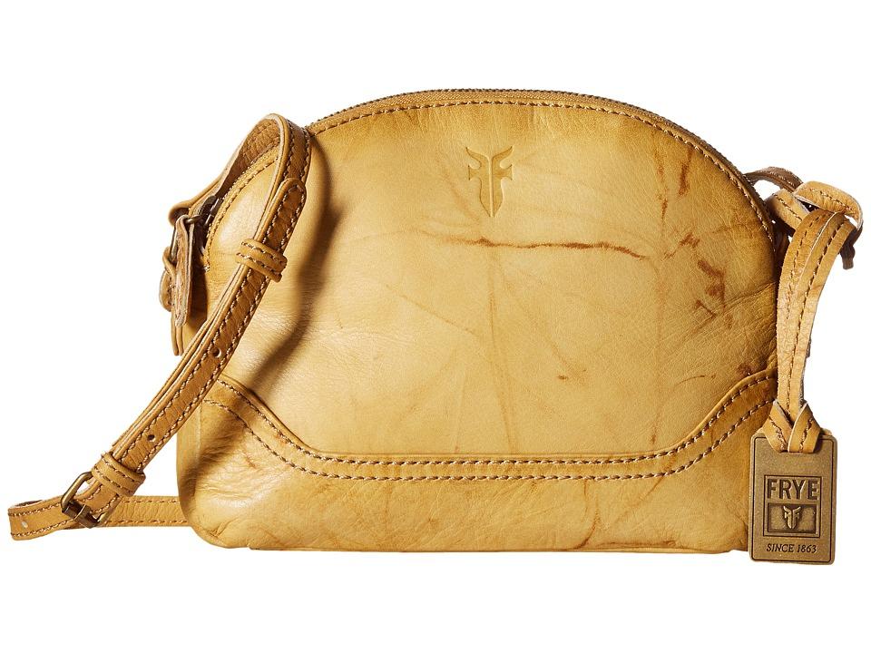 Frye - Campus Zip Crossbody (Banana) Cross Body Handbags