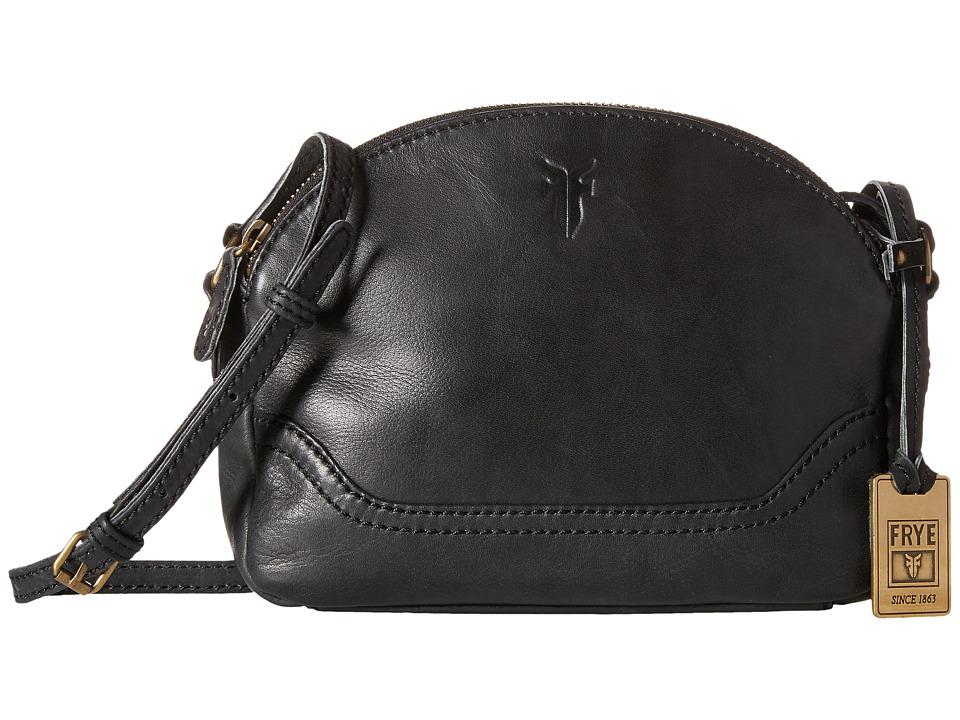 Frye - Campus Zip Crossbody (Black) Cross Body Handbags