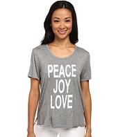 CJ by Cookie Johnson - Peace/Love/Joy Short Sleeve Tee