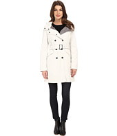 Calvin Klein - Double Breasted Coat w/ Rib Detail