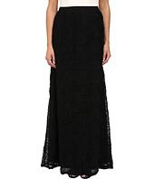 Adrianna Papell - A-Line Tule Flower Skirt