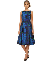 Adrianna Papell - Sleeveless Tea Length Dress