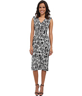 Calvin Klein - Printed Compression Midi Sheath