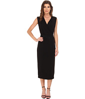 Calvin Klein - Sleeveless Dress w/ Suede Belt