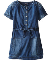 Tommy Hilfiger Kids - Quilted Denim Dress (Little Kids)