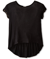 Ella Moss Girl - Aria Short Sleeve Knit Top (Big Kids)