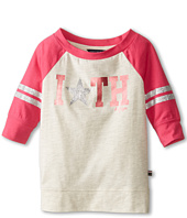 Tommy Hilfiger Kids - 3/4 Sleeve Embellished Active Top (Little Kids)