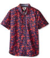 VISSLA Kids - Californica Short Sleeve Woven (Big Kids)