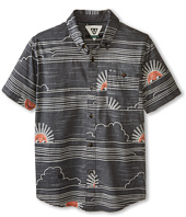 VISSLA Kids - Sunsets Short Sleeve Woven (Big Kids)