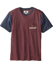 VISSLA Kids - Seven Sets Pocket Tee (Big Kids)