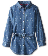 Tommy Hilfiger Kids - Printed Denim Tunic (Little Kids)