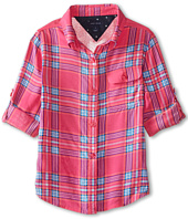 Tommy Hilfiger Kids - Printed Plaid Top (Little Kids)