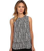 Calvin Klein - Printed Double Layer Button Front