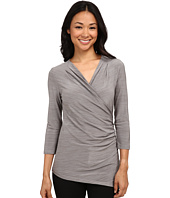 Calvin Klein - Long Sleeve Side Ruched Top