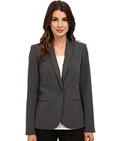 Calvin Klein - One-Button Pinstripe Jacket