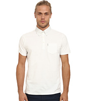 Ben Sherman - Short Sleeve Easy Spot Woven Collar Polo MC11802A