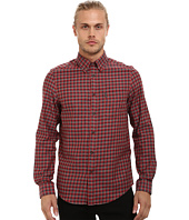 Ben Sherman - Long Sleeve Marl Tartan Woven Shirt MA11924A