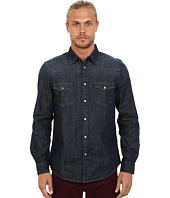 Ben Sherman - Long Seeve Denim Western Shirt MA11406