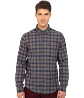 Ben Sherman - Long Sleeve Diamond Stitch House Check Woven Shirt MA11936A
