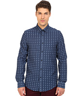 Ben Sherman - Long Sleeve Double Cloth Gingham Woven Shirt MA11919