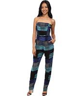 Mara Hoffman - Crepe Strapless Jumpsuit