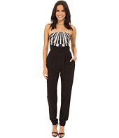 Mara Hoffman - Strapless Embroidered Jumpsuit