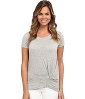 Bobeau - Short Sleeve Knot T-Shirt