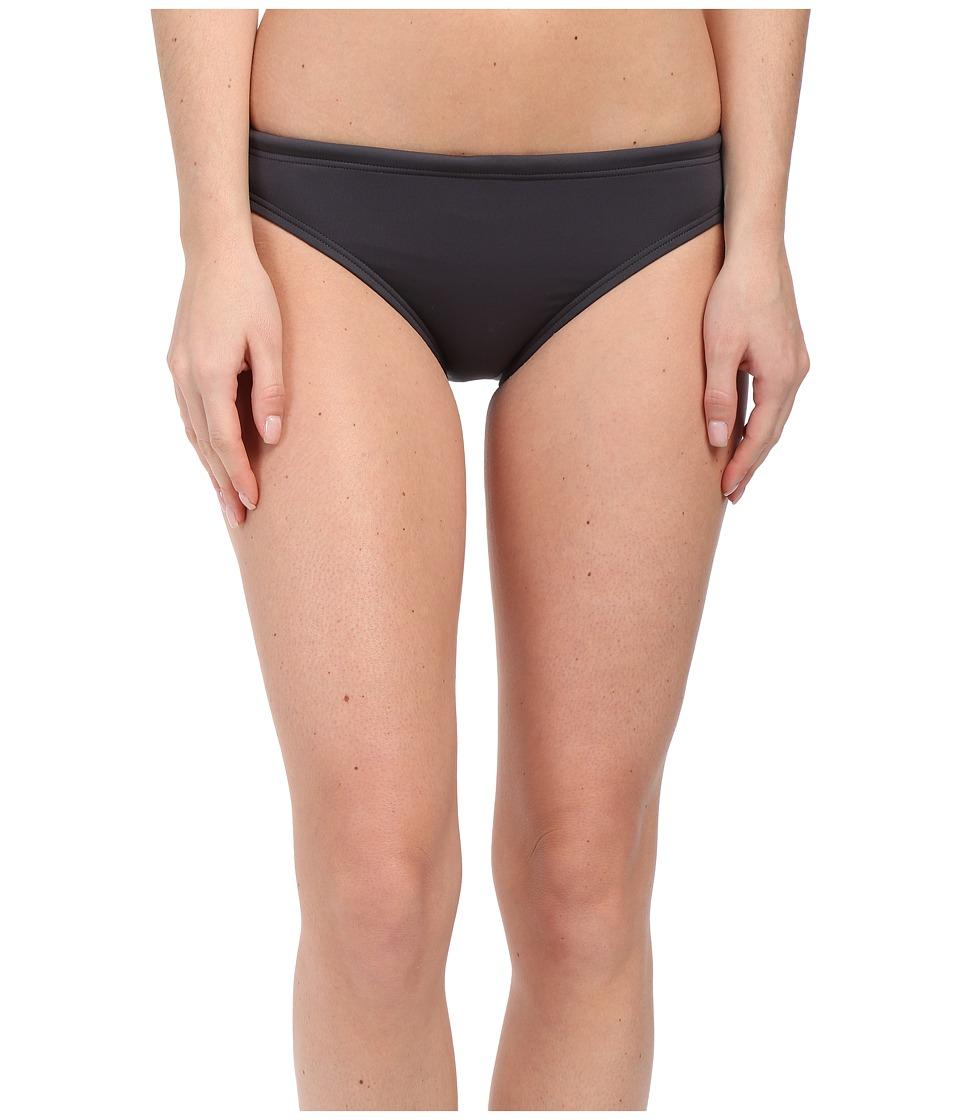 TYR Solid Brites Bikini Bottom (Grey) Women