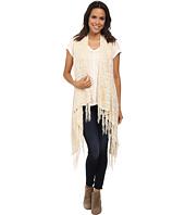 Bobeau - Fringe Sweater Vest