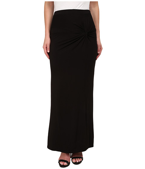 bobeau side knot maxi skirt