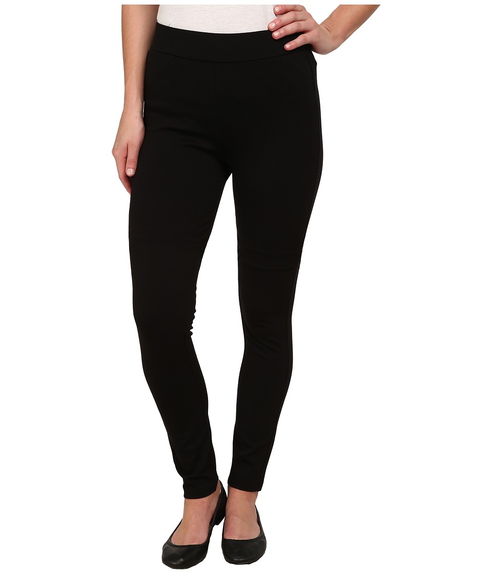 Image of B Collection by Bobeau - Ponte Leggings (Black) Women's Casual Pants