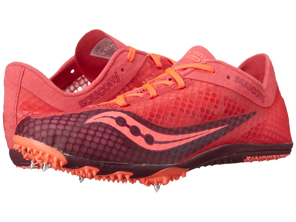 Saucony - Endorphin (Berry/Coral) Women