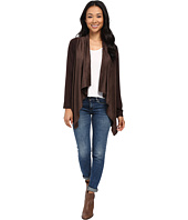 B Collection by Bobeau - Suede Cardigan