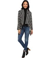 Bobeau - Stripe Blanket Cardigan