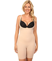 Spanx - Plus Size Shape My Day Open-Bust Mid-Thigh Bodysuit