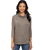 Bobeau - Cowl Neck Knit Top