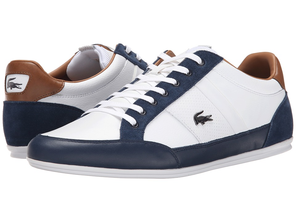 Lacoste Chaymon Prm2 White/Dark Blue Mens Shoes